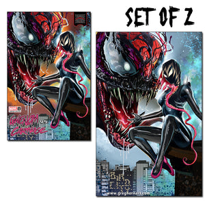 King in Black: Gwenom vs Carnage # 1 - A  Greg Horn Art/Bird City Comics Exclusive Variant (Raw Options)