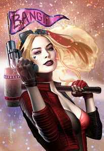 Harley Quinn # 3 - A Celebrity Authentics/Greg Horn Art Exclusive Variant Raw Options