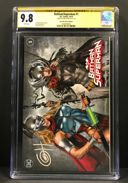 "Raid the Trades! Discounted CGC Signature Series ""A"" Covers!!"
