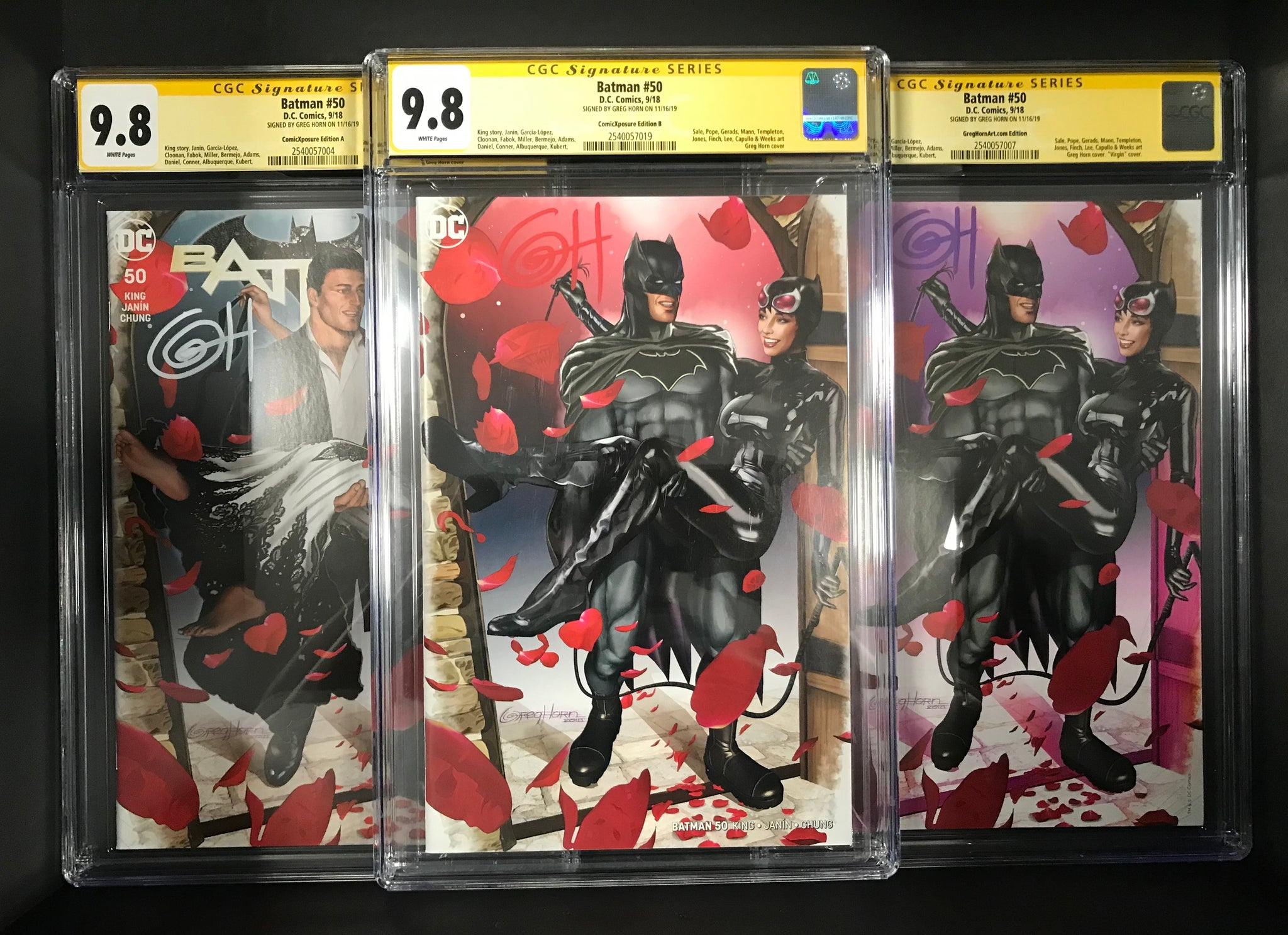 Don't buy the rest, buy the sets! Discounted CGC Signature Series covers!