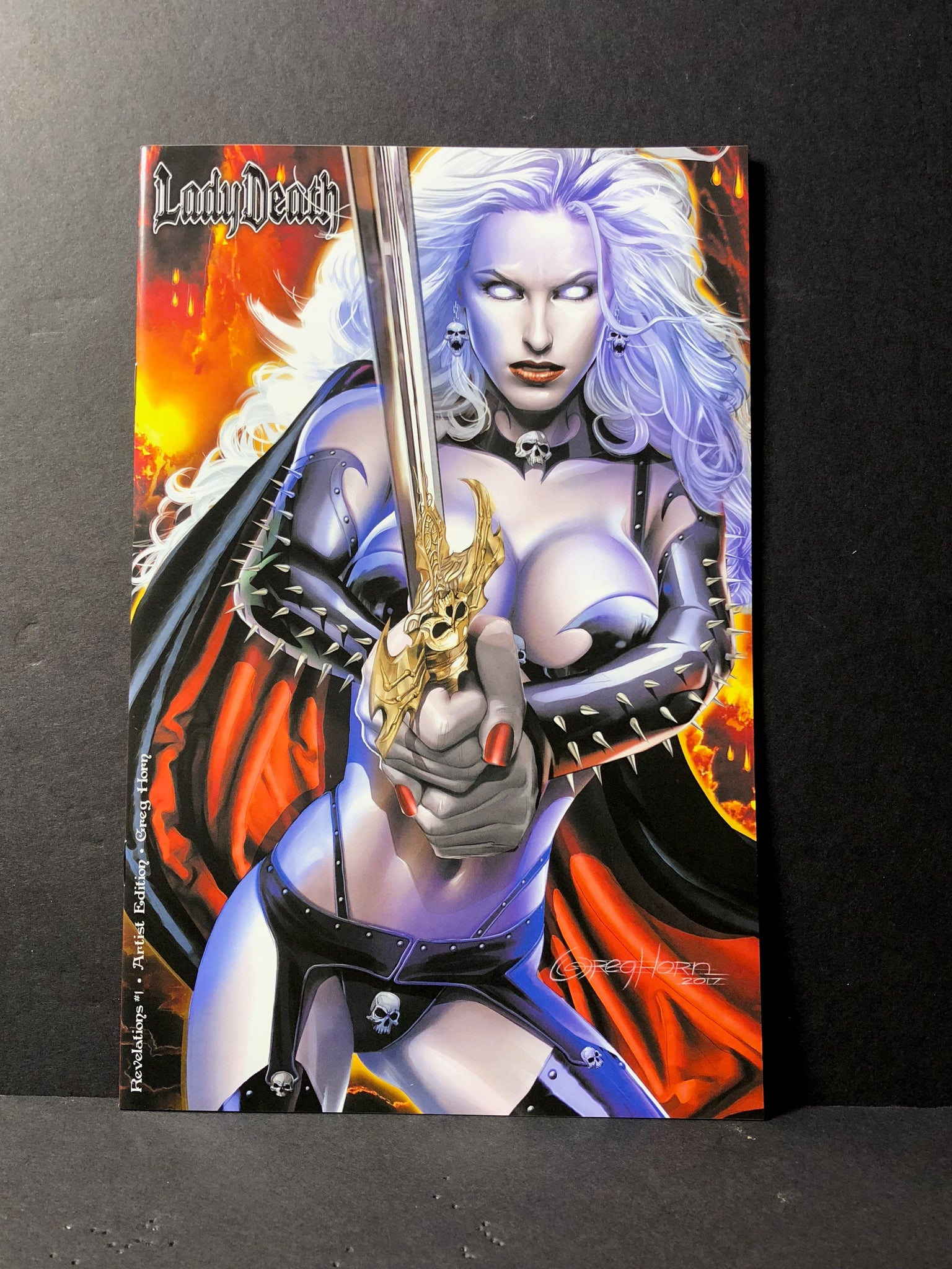 Lady Death Revelations #1 comic book Nice and naughty versions - Limited print options