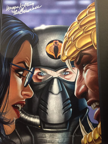 G.I. JOE - Cobra's Surprise - high quality 11 x 17 digital print Also signed by Morgan Lofting!