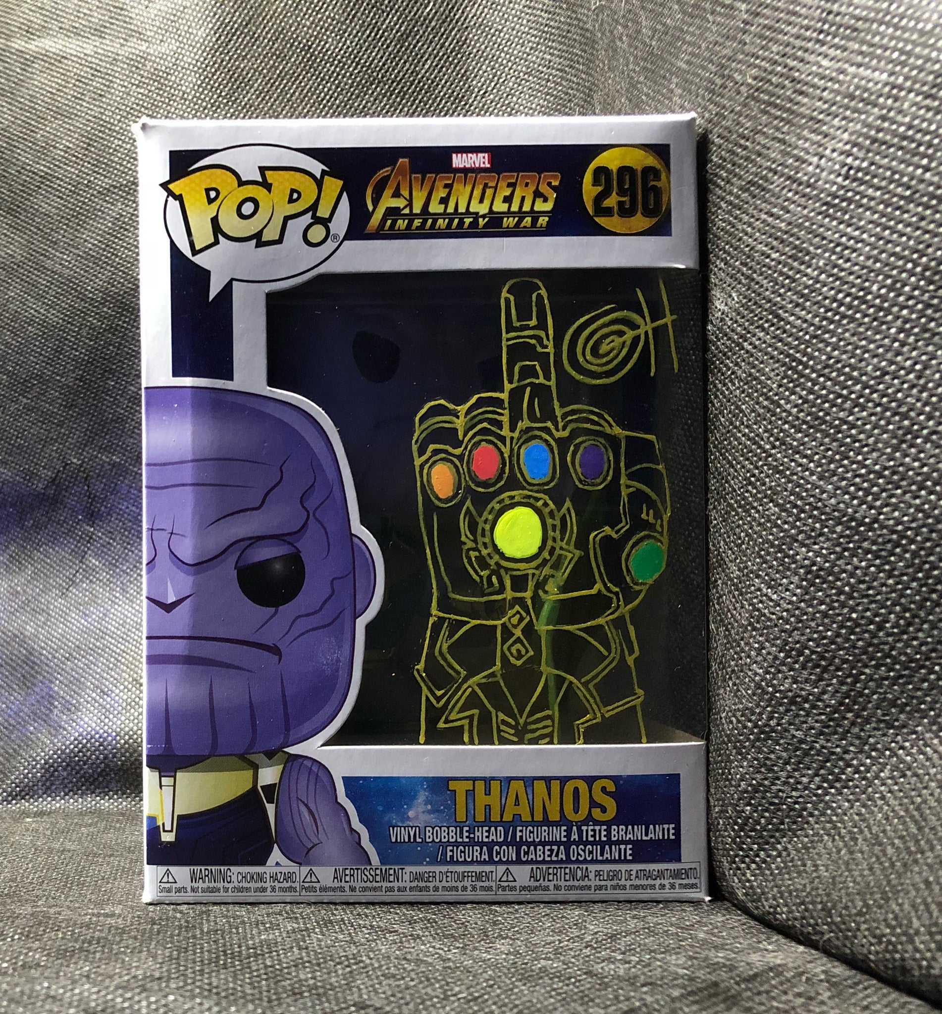 Thanos PoP! Remarked w Infinity Gauntlet