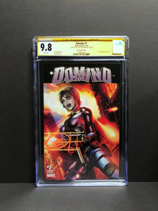 Domino # 1 ComicXPosure Edition CGC 9.8 SS