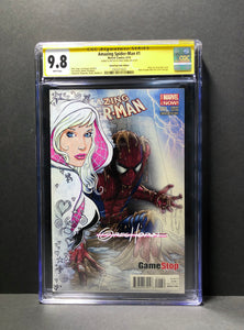 Amazing Spider-Man 1 CGC 9.8 Signature Series Signed and Remarqued by Greg Horn