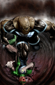 Blackest Night: Kilowog Stomp - high quality 11 x 17 digital print