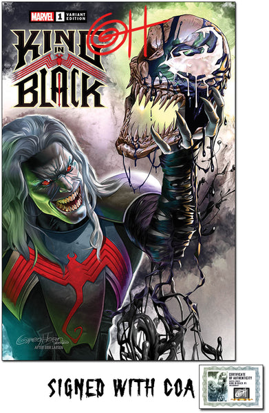 King in Black - Greg Horn Art/Past Present Future Exclusive Variant - Raw Options