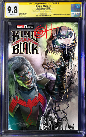 King in Black - Greg Horn Art/Past Present Future Exclusive Variant - CGC Signature Series Options