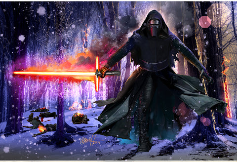 Star Wars - Kylo Ren- Limited Lithograph