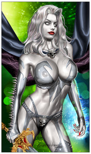 Lady Death: Heartbreaker - Naughty - Limited Edition High Quality 11 x 17 digital print