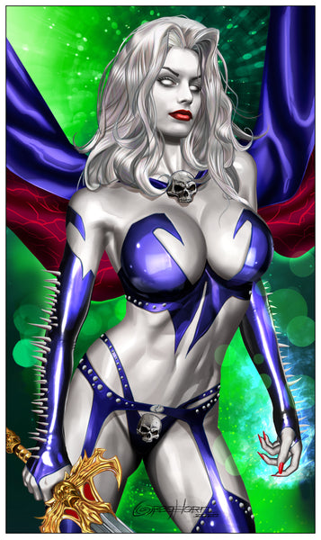 Lady Death: Heartbreaker -Nice - Limited Edition High Quality 11 x 17 digital print