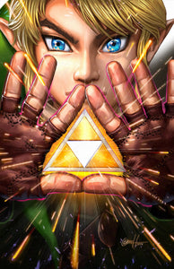 Link - Tri Force - high quality 11 x 17 digital print