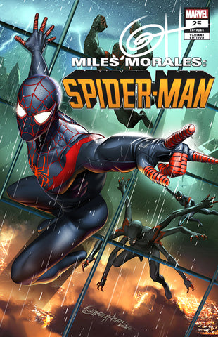 Miles Morales: Spider-Man # 25 - A Greg Horn Art/Bird City Comics/616 Comics Exclusive Variant Raw Options