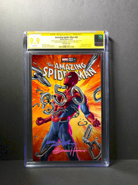 Amazing Spider-Man# 850 - CGC Signature Series Options - Signed by Neal Adams and Signed/remarked Greg Horn