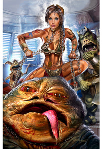 Star Wars - Slave Leia - Limited Lithograph