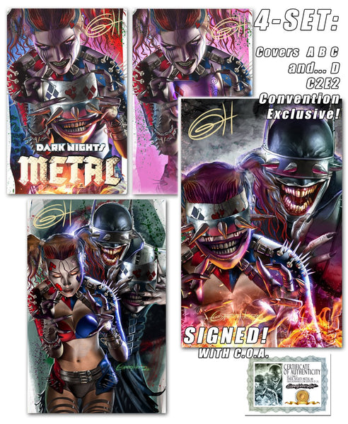 DARK NIGHT METAL - NEW PURCHASE OPTIONS!
