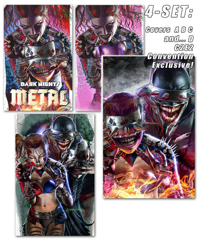 DARK NIGHT METAL - Variant comic books