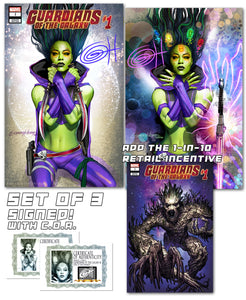 Guardians of the Galaxy # 1 Den of the Damned Exclusive Variant
