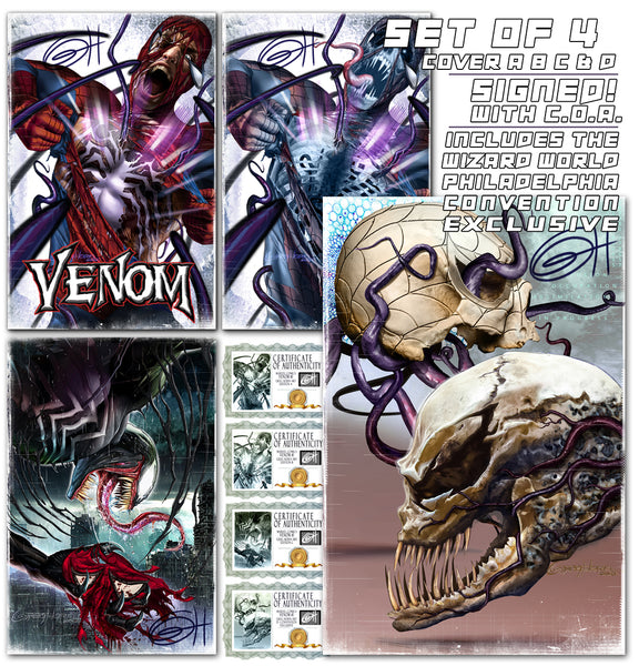 Venom #1 GREG HORN ART EXCLUSIVE VARIANT - In stock now- great NM copies!