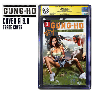 Gung-Ho # 1 Comic Kingdom of Canada/Greg Horn Art Variant CGC 9.8