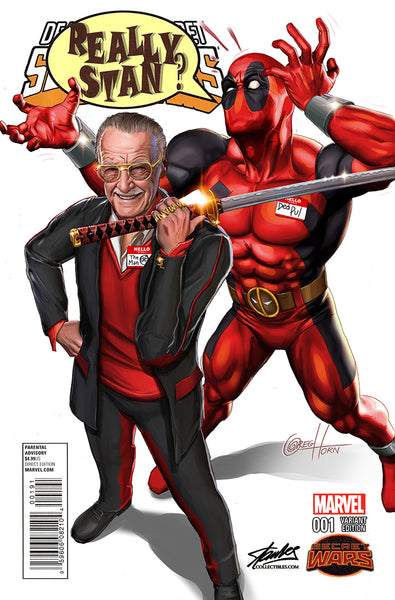 Deadpool's Secret Secret War #1 STAN LEE COLLECTIBLES Exclusive variant