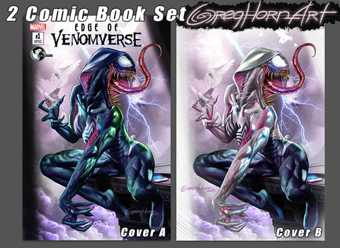 Edge of Venomverse #1 Unknown Comic Books Store exclusive
