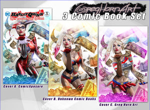 Harley quinn 25th anniversary Special #1 store exclusive variant by Greg Horn