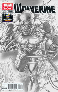 Wolverine #1 Greg Horn Variant WIZARD WORLD COMIC CON SACRAMENTO Color and Sketch available!