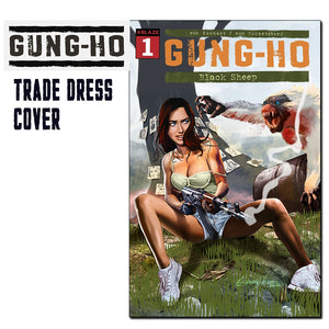 Gung-Ho # 1 Comic Kingdom of Canada/Greg Horn Art Variant
