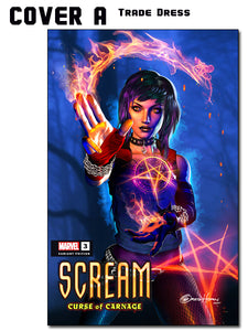 SCREAM CURSE OF CARNAGE #3 A Greg Horn Art Exclusive Variant Comic Options