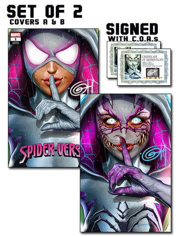 Spider-Verse # 1 Greg Horn Art Store Exclusive Variant Comics