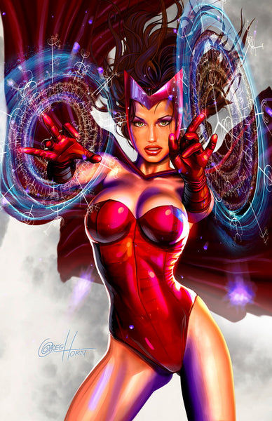 Scarlet Witch - Put a Hex On You - high quality 11 x 17 digital print