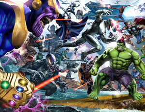 "Secret Wars - 24"" x 36"" Poster - Signed"