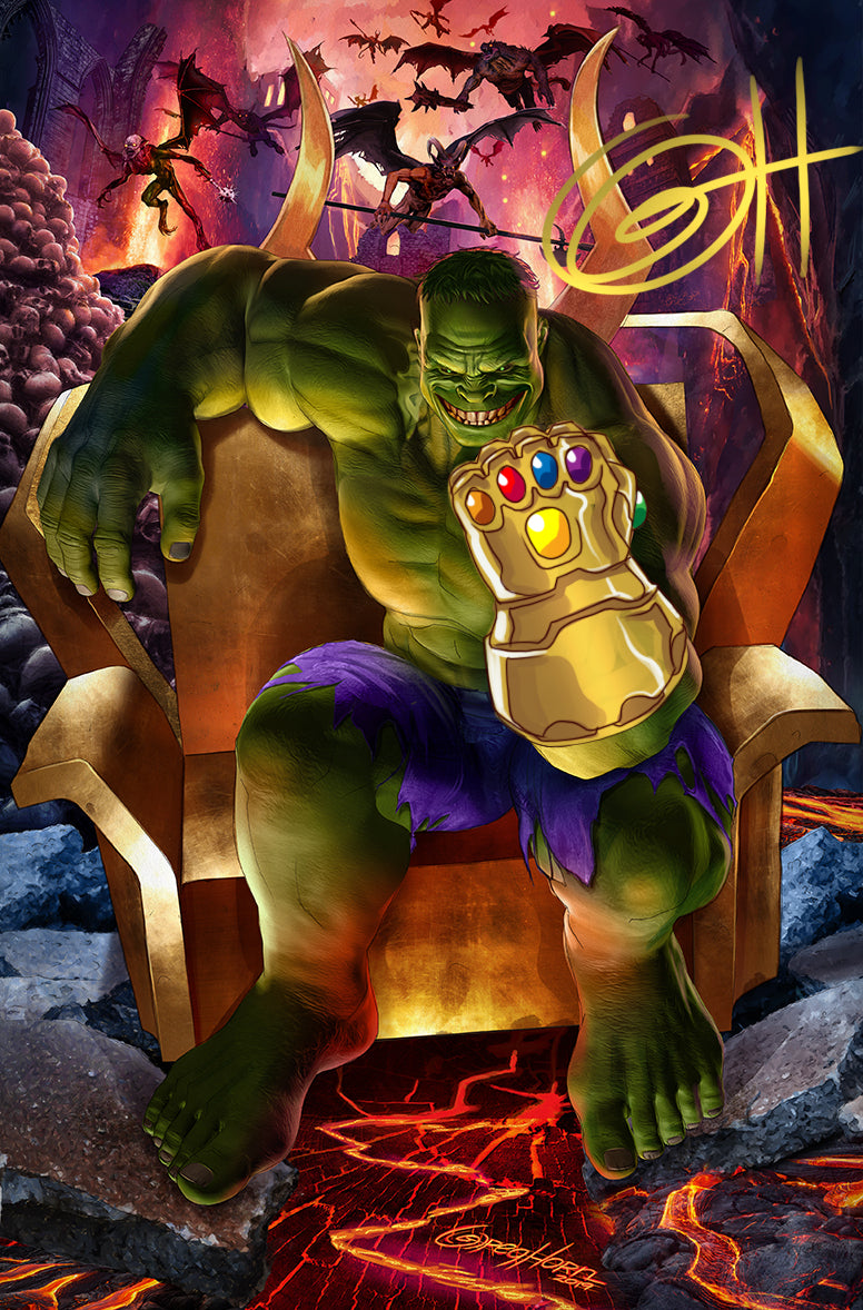 Immortal Hulk - Hellbound High Quality 11 x 17 Digital Print