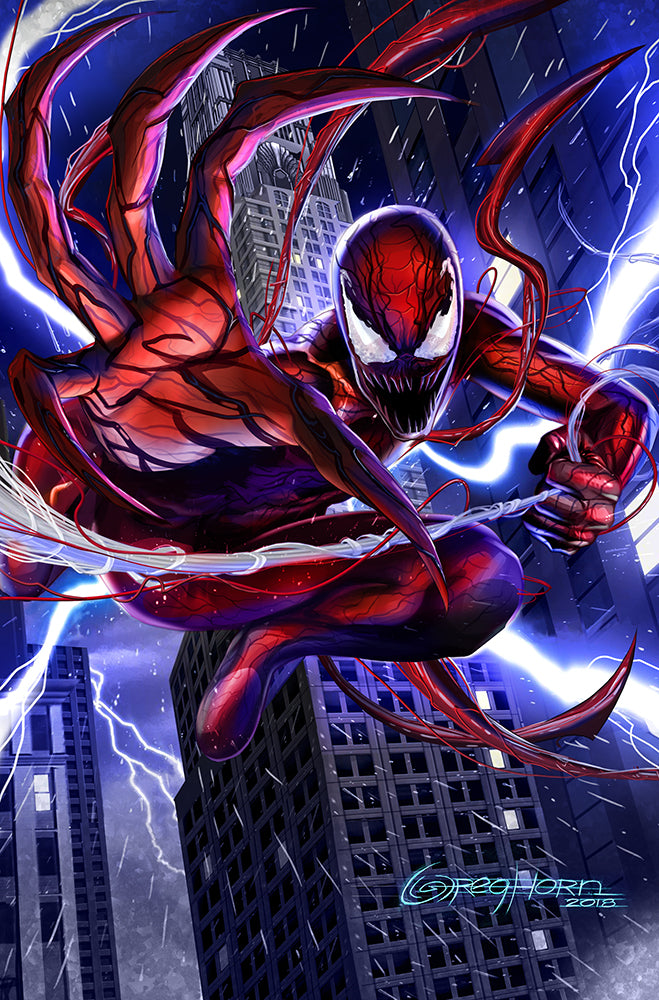 The Amazing Spider Man 11x17 Sparnage print