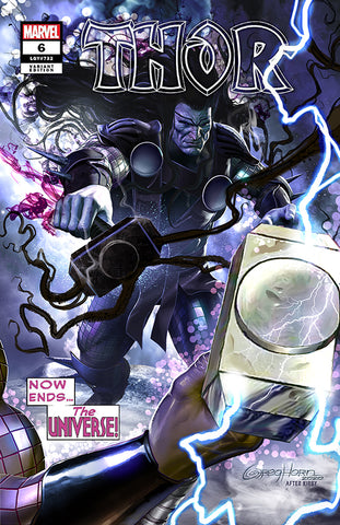 Thor # 6 - A Wanted Comix/Greg Horn Art Variant Exclusive - Raw Options