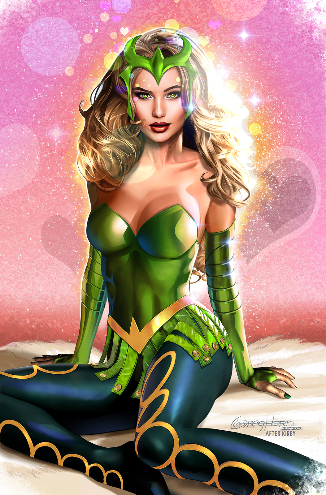 The Enchantress! - High quality - 11 x 17 digital print
