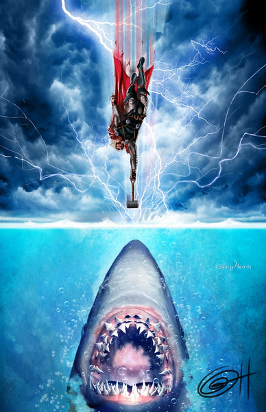 Thor VS Jaws
