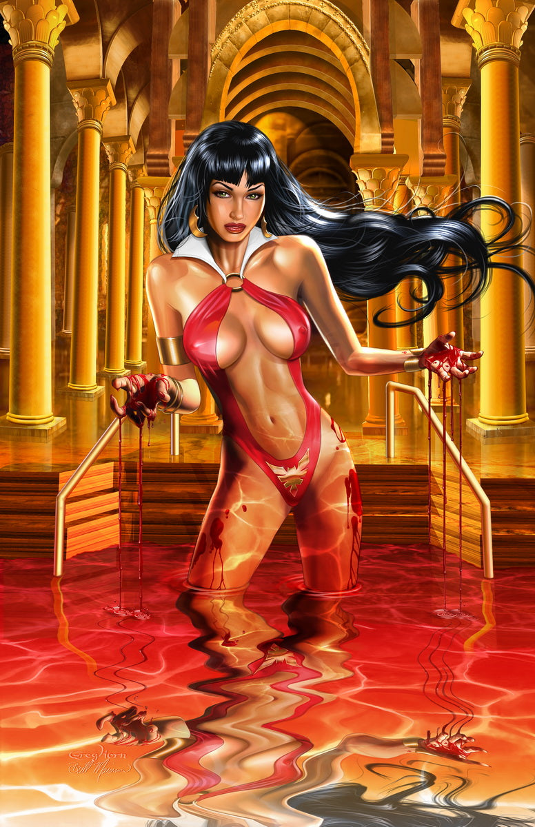 Vampirella - high quality 11 x 17 digital print
