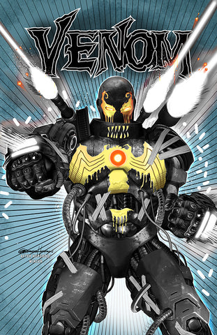 Venom # 25 A Greg Horn Art/Iron Lion Exclusive Variant