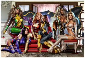 Women of X-men - Limited Lithograph