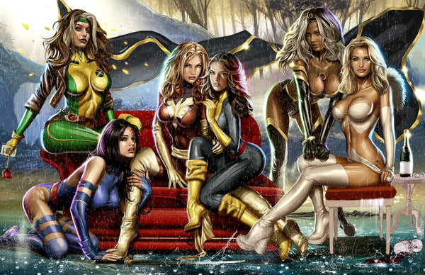 "Women of X-men - 24"" x 36"" Poster - Signed"