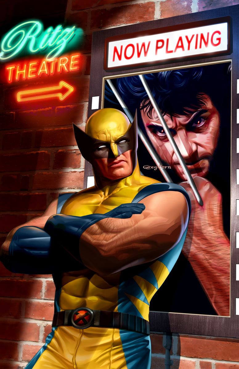 Wolverine - Not Impressed - high quality 11 x 17 digital print