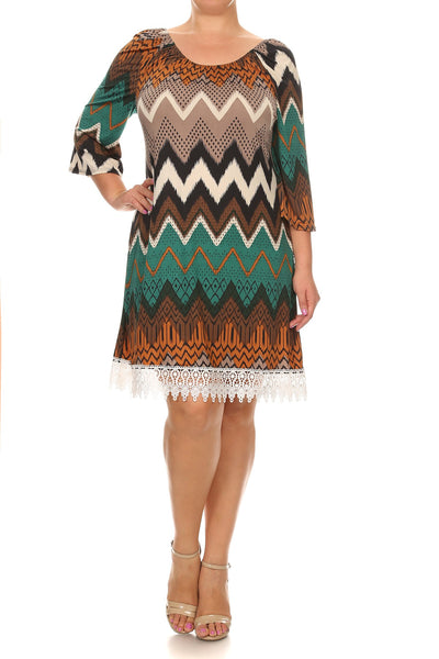 Chevron Dress