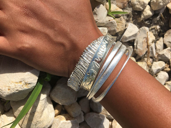 Three Collective Bangles