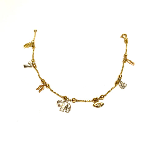 Copy of 14k Gold Lucky Charm Necklace