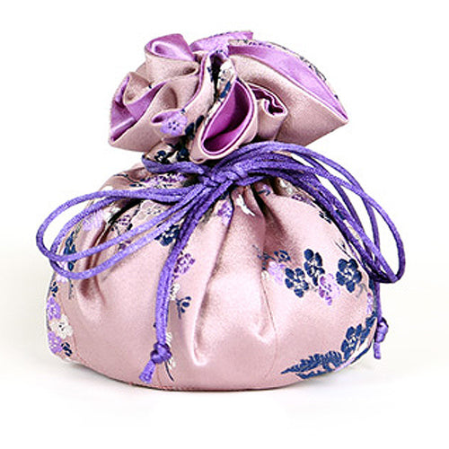 Jewelry Pouch Cherry Blossom - Mauve