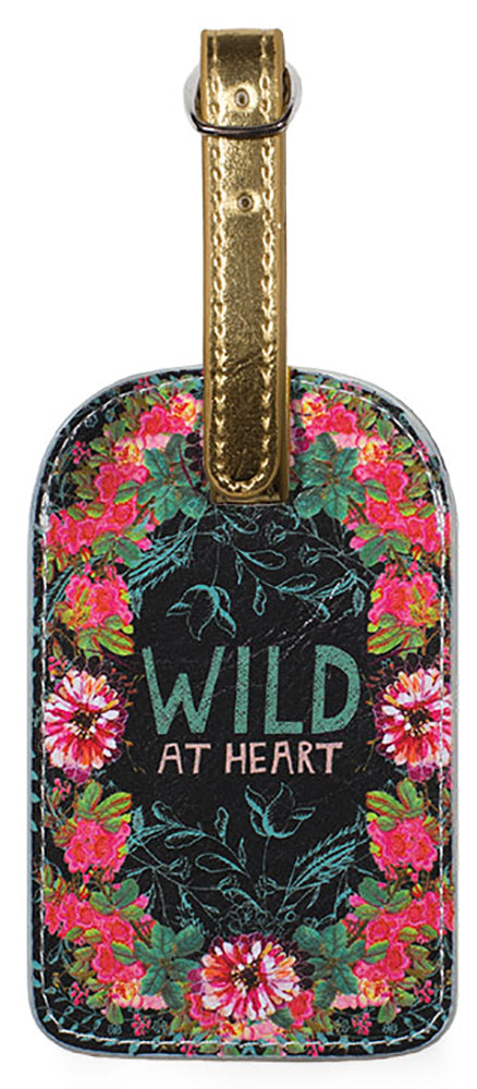 Luggage Tag Wild at Heart