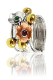 Two Flower Haifa Stacking Ring