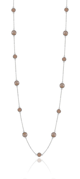 Capri Tredici Necklace Sand Moonstone